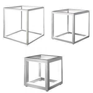 Tischleuchte Delux aus Aluminium in drei Größen
