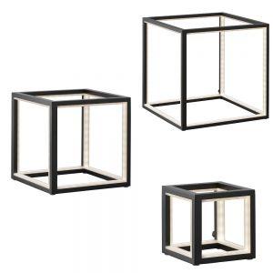 Tischleuchte Delux in schwarz, drei Größen erhältlich