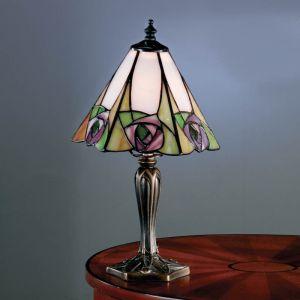 Tischleuchte Ingram im Tiffany Stil - klein