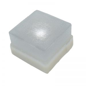 Top Light Pflasterstein Light Stone Beton 10x10x6cm, Glasklar LED 0,3W 1x 0,3 Watt, klar