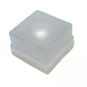 Top Light Pflasterstein Light Stone Beton 6x6x6cm, Glasklar, LED 0,3W 1x 0,3 Watt, klar