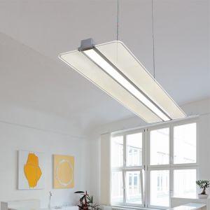Ultra flache Büro-Pendelleuchte 40W Transparent