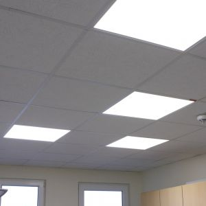 Ultra flaches LED Panel 45W, 60x60 cm, 4000K neutralweiß