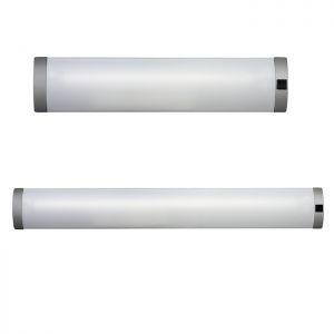 Unterbauleuchte in silber, Schalter, zwei Größen