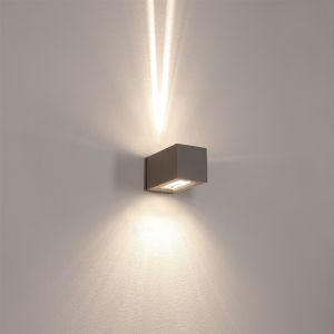 LHG Up&Down Aussenwandlampe Joy, Aluminiun