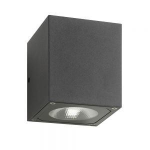 Up&Down LED-Außenwandleuchte grafit, 2x LED 7 Watt