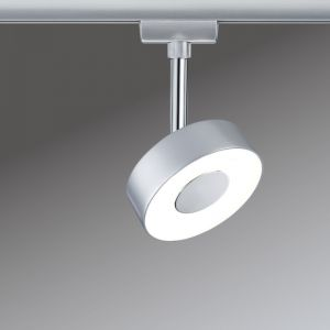 U-Rail LED Spot Circle in Chrom-matt