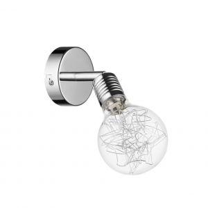 Wandleuchte Bulbs Chrom, 1 flammig