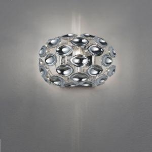 Wandleuchte Spoon chrom Kunststoff