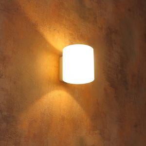 LHG Wandleuchte Vici weiß inklusive 5W LED