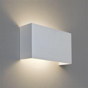 Wandleuchte, Gips, Up&Down, 32,5x18cm, E27 Fassung LED einsetzbar