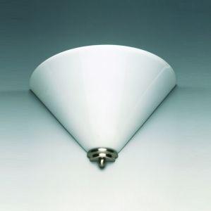 Wandleuchte, Oberfläche Chrom, Opalglas weiß 2 weiß, 20,00 cm, 20,00 cm