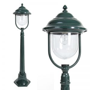 LHG Wegeleuchte in Grün - klassische Form 1x 60 Watt, grün, 112,00 cm, 15,80 cm, 24,50 cm, 24,50 cm