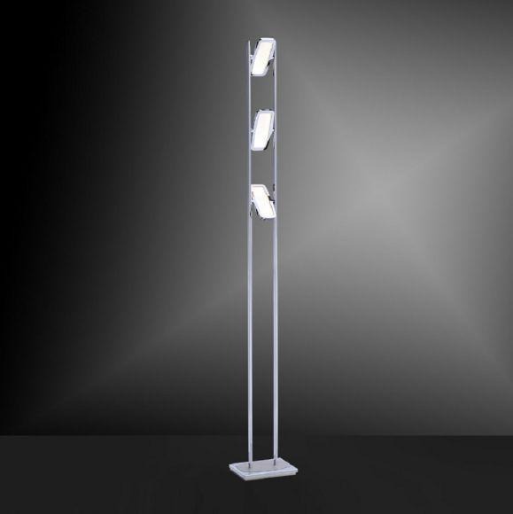 led stehlampe inkl led platine 230v ip20 20w led stehleuchte modern deckenfluter mit leselampe. Black Bedroom Furniture Sets. Home Design Ideas