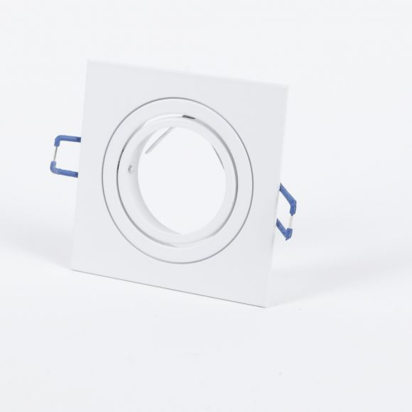 LHG 10-Set weißer LED Einbaustrahler für die Decke, inkl. 7W