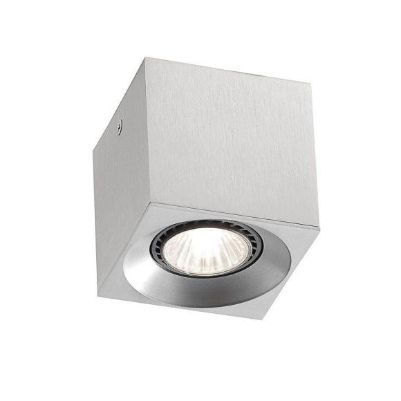 1-flammiger Deckenstrahler aus Aluminium