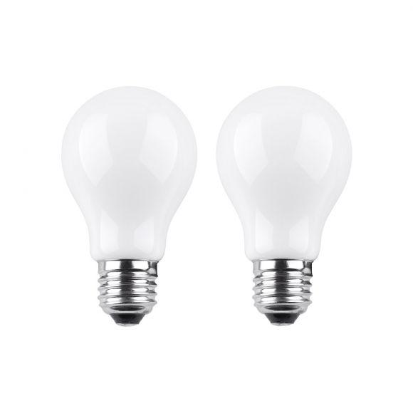 2er Set A60 AGL 4 Watt LED  E27  2700K  230V  450lm 180° nicht dimmbar