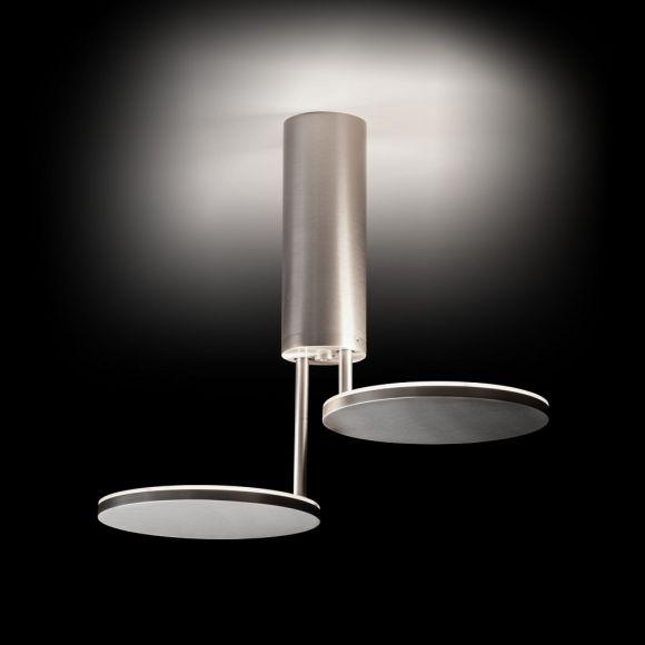 2-flammige LED-Deckenleuchte von Holtkötter