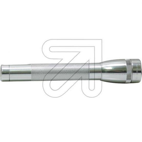 LED Mag Lite Taschenlampe Mini-Mag LED Multimode 63lm für 2x Mignon Batterie AA 10000h Lebensdauer silber