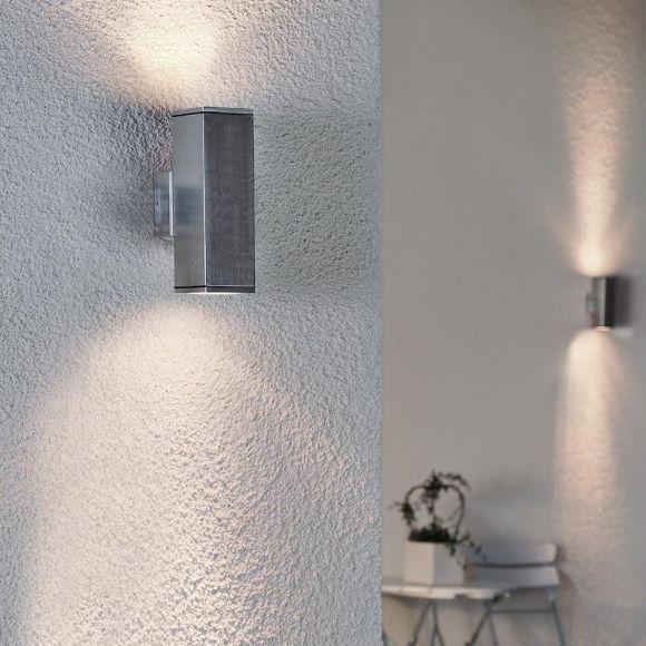 wandstrahler aus aluminium beleuchtung f r den. Black Bedroom Furniture Sets. Home Design Ideas