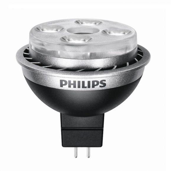 GU5,3 LED 7 Watt , 36°, 2700K, QR-CBC51 1x 7 Watt, warmweiß extra (2.700 Kelvin), 315,0 Lumen, 765 Candela, 36°