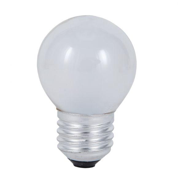 7/10 Watt - 60 Watt , Tropfenlampe Classic E27 Innen mattiert  D45