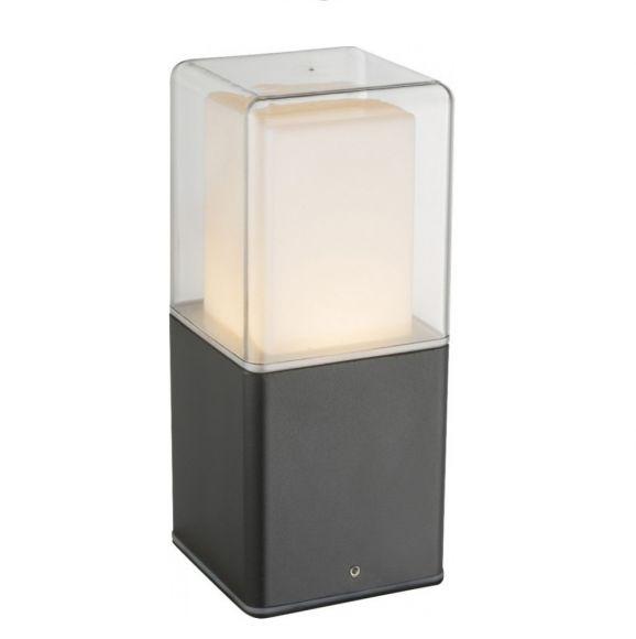 Alu-Druckguss LED Sockelleuchte Dalia, schwarz