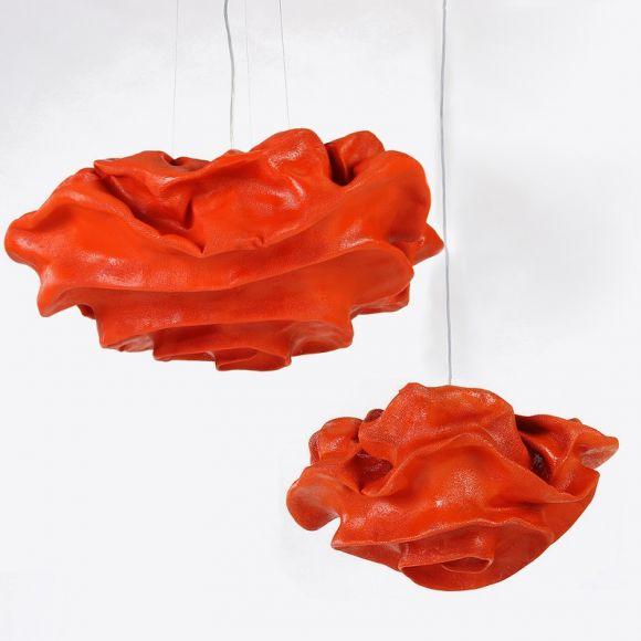 Arturo Alvarez Designer Pendelleuchte Nevo in Orange