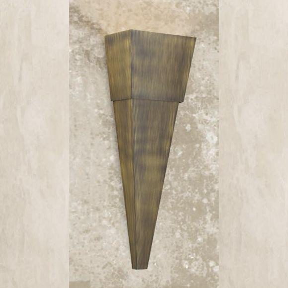 Attraktive Wandleuchte - Höhe 70 cm - 3 Oberflächen