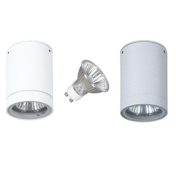 LHG Außenleuchte - Downlight - Aluminium - Farbauswahl möglich