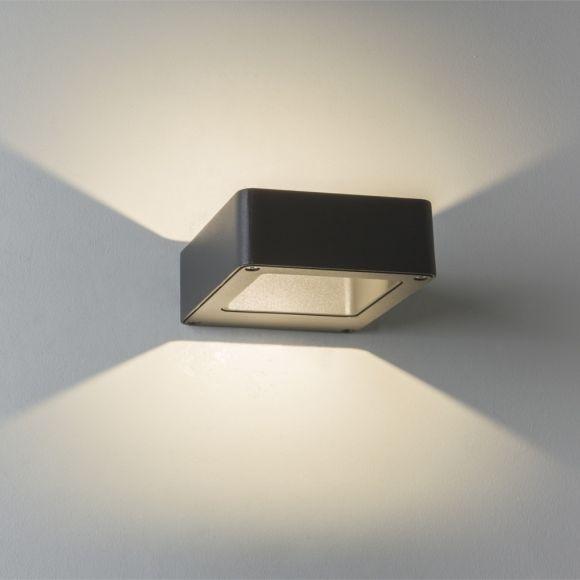 Außenwandleuchte Napier in schwarz, 5Watt LED
