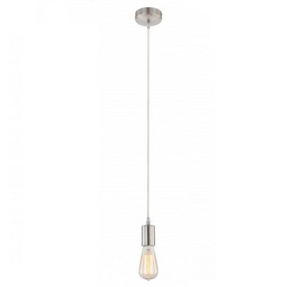 LHG Aufhängung - Leuchtenpendel in Nickel matt, Kabel in beige