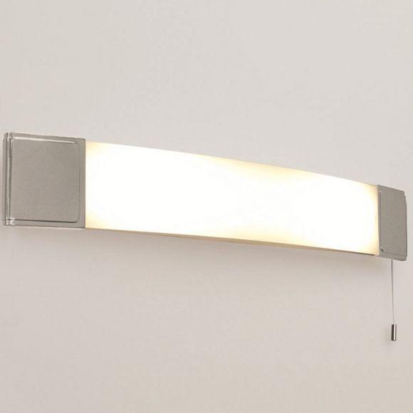 badezimmer spiegelleuchte mit zugschalter und steckdose. Black Bedroom Furniture Sets. Home Design Ideas