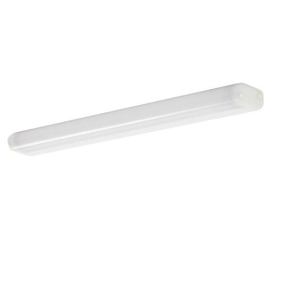 bad und spiegelleuchte in wei mit schalter und opalem diffusor wohnlicht. Black Bedroom Furniture Sets. Home Design Ideas