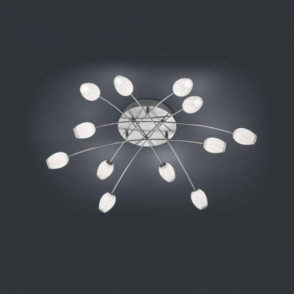 Bankamp  LED-Deckenleuchte mit Glasblüten