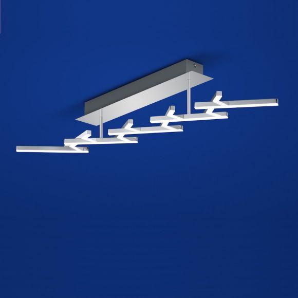 b leuchten led deckenleuchte cross dimmbar wohnlicht. Black Bedroom Furniture Sets. Home Design Ideas