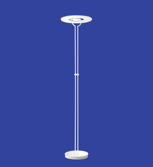 B-Leuchten LED-Fluter Anello Weiß - mit Tastdimmer