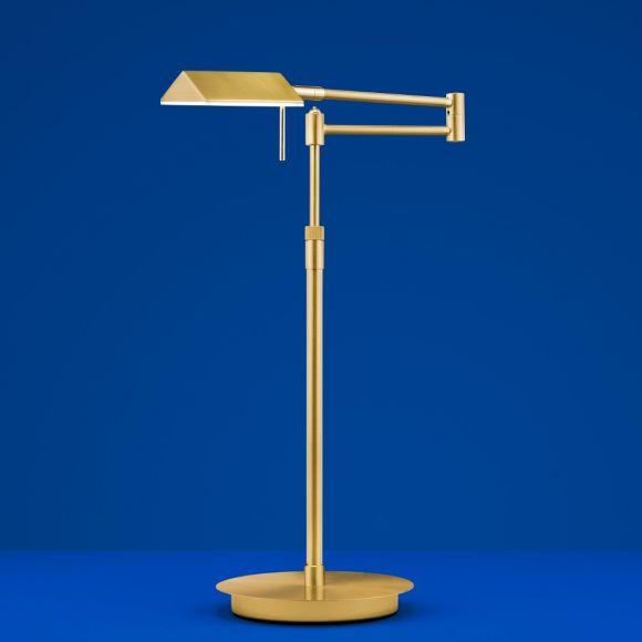 B-Leuchten LED-Tischleuchte Sitten in gold