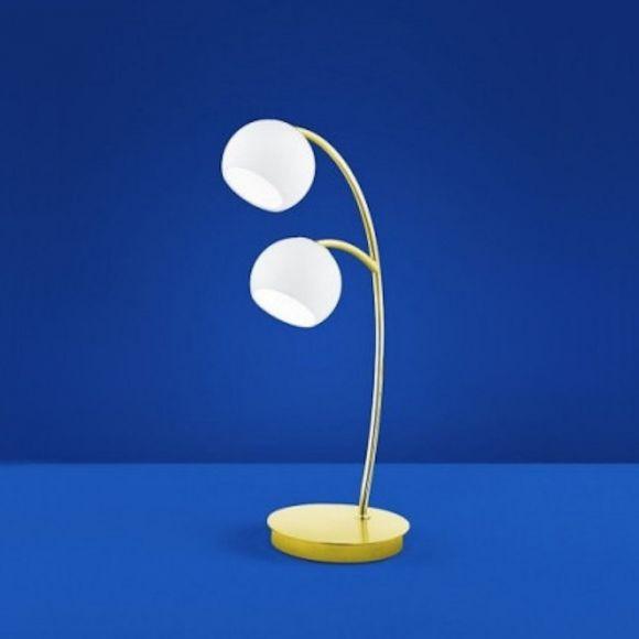B-Leuchten LED-Tischleuchte Verona Messing matt / blank
