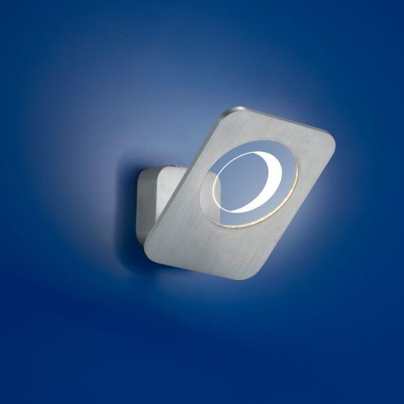 B-Leuchten LED-WandleuchteTrocadero Alu - schwenkbar