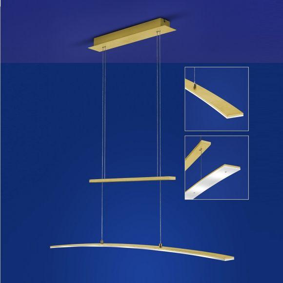B-Leuchten LED-Zugpendelleuchte Loire in 2 Oberflächen