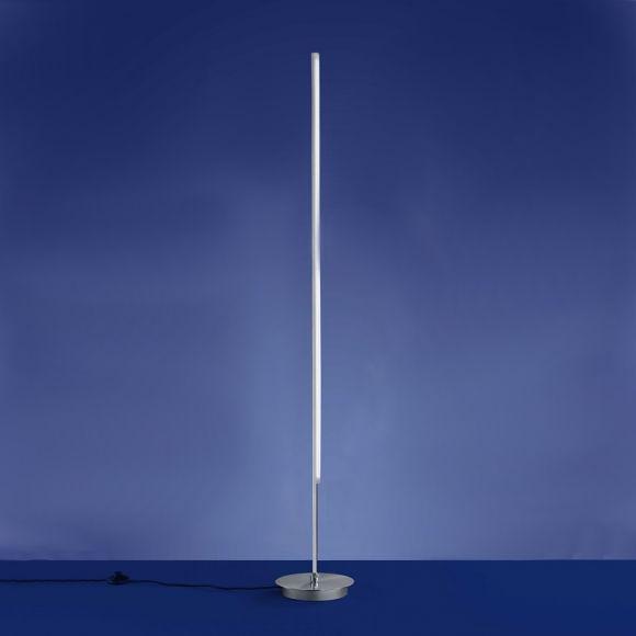 b leuchten schlanke led stehleuchte schwenkbar wohnlicht. Black Bedroom Furniture Sets. Home Design Ideas