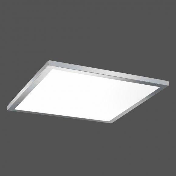 B-Leuchten Schlichte LED-Deckenleuchte 44 x 44 cm
