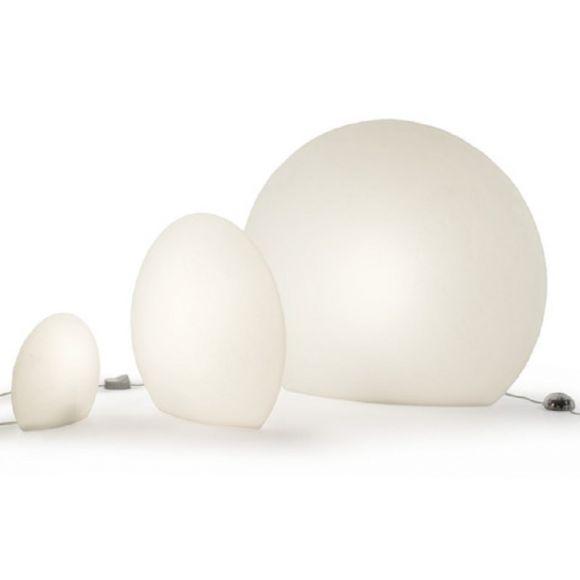 Bodenleuchte EGGO Indoor in Weiß