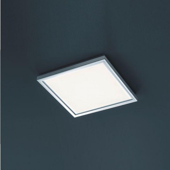 Büro-LED-Deckenleuchte 24W, 41,5x41,5 cm, Panel 3000K warmweiß