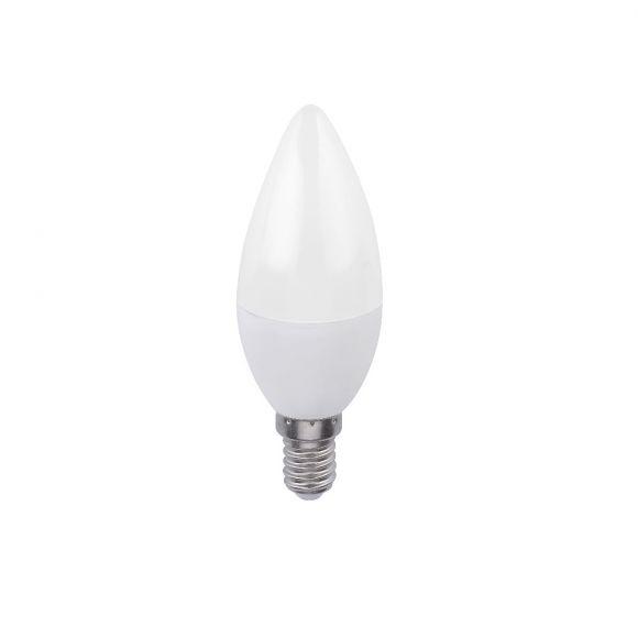 C35 E14 5W LED Lampe Kerze·stufenlos dimmbar über Wandschalter