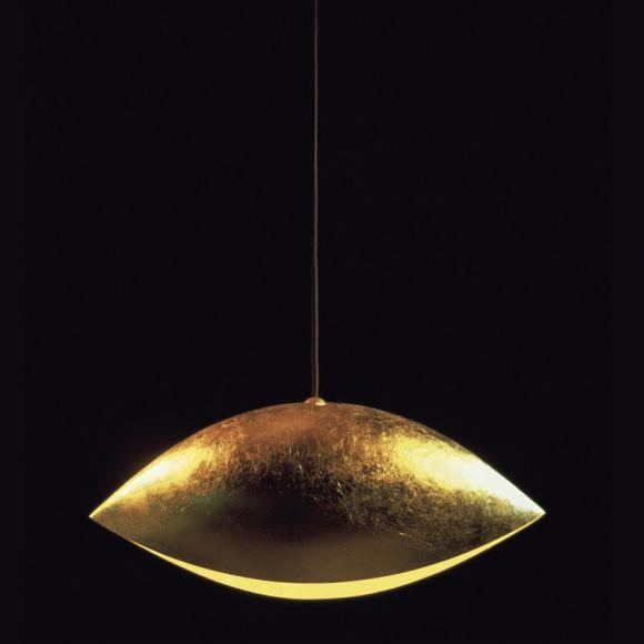 catellani smith pendelleuchte malagola blattgold. Black Bedroom Furniture Sets. Home Design Ideas