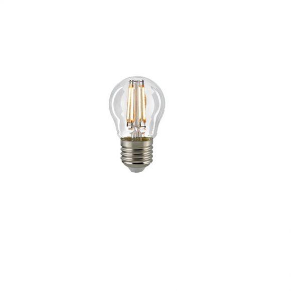 D45 AGL LED Tropfen Filamentlampe E27 4 Watt 2700K dimmbar - klar oder matt
