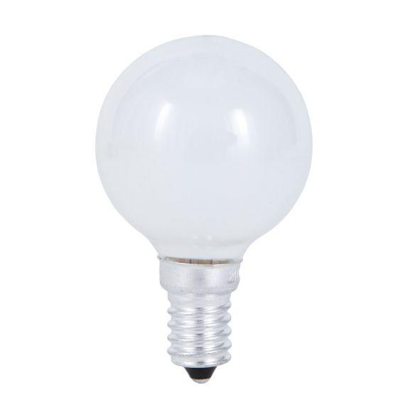 D45 Tropfen Leistung wählbar  opal weiß  E14