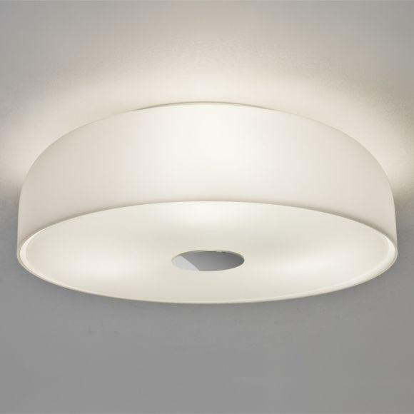 LHG Deckenleuchte aus Opalglas weiß - Ø35cm - IP44  - inklusive Leuchtmittel